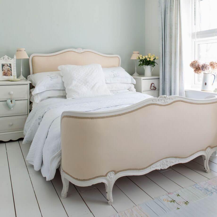 интерьер спальни обои