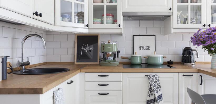 Маленькая угловая кухня: как оформить