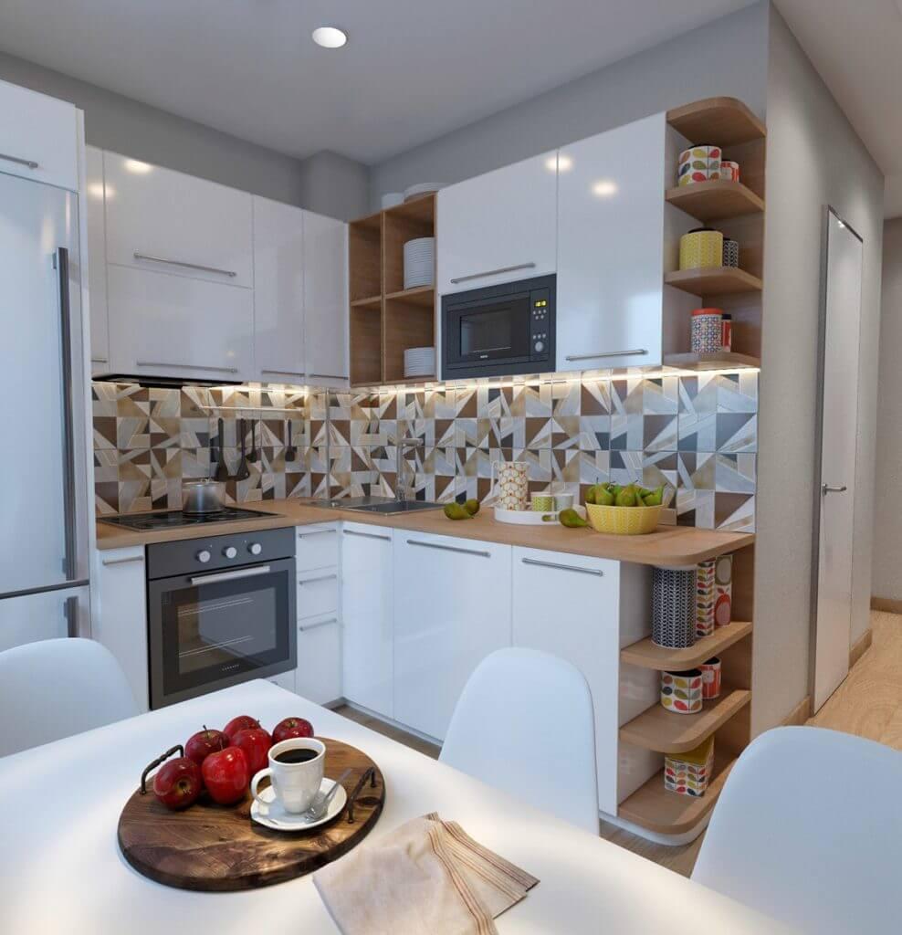 кухонные уголки для маленькой кухни фото