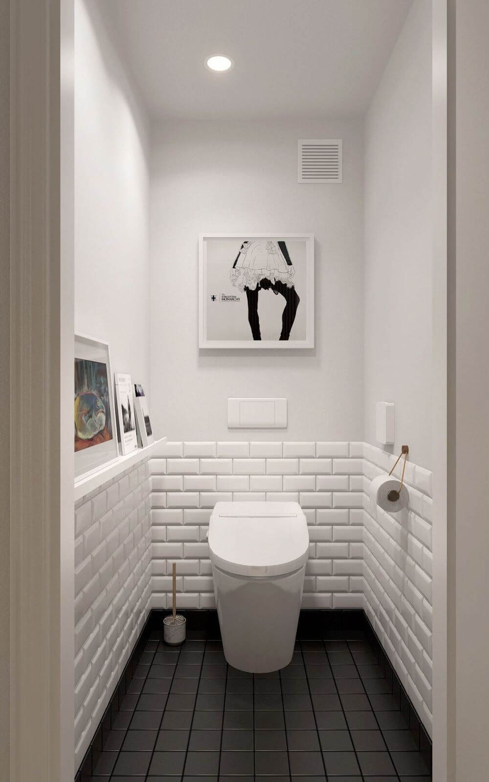 современный ремонт туалета