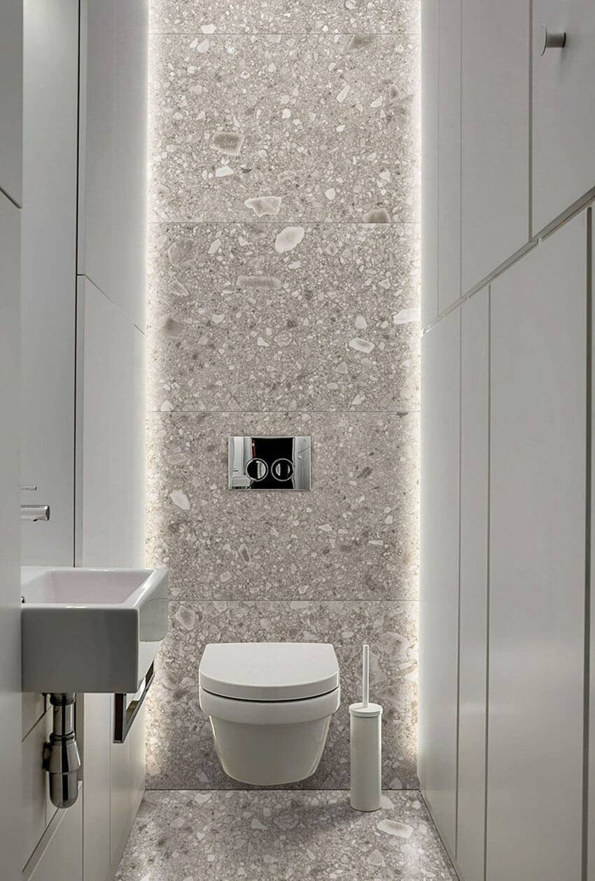 креативный дизайн туалета