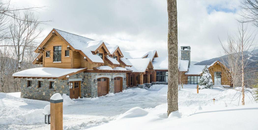 Cовременный дом в горах