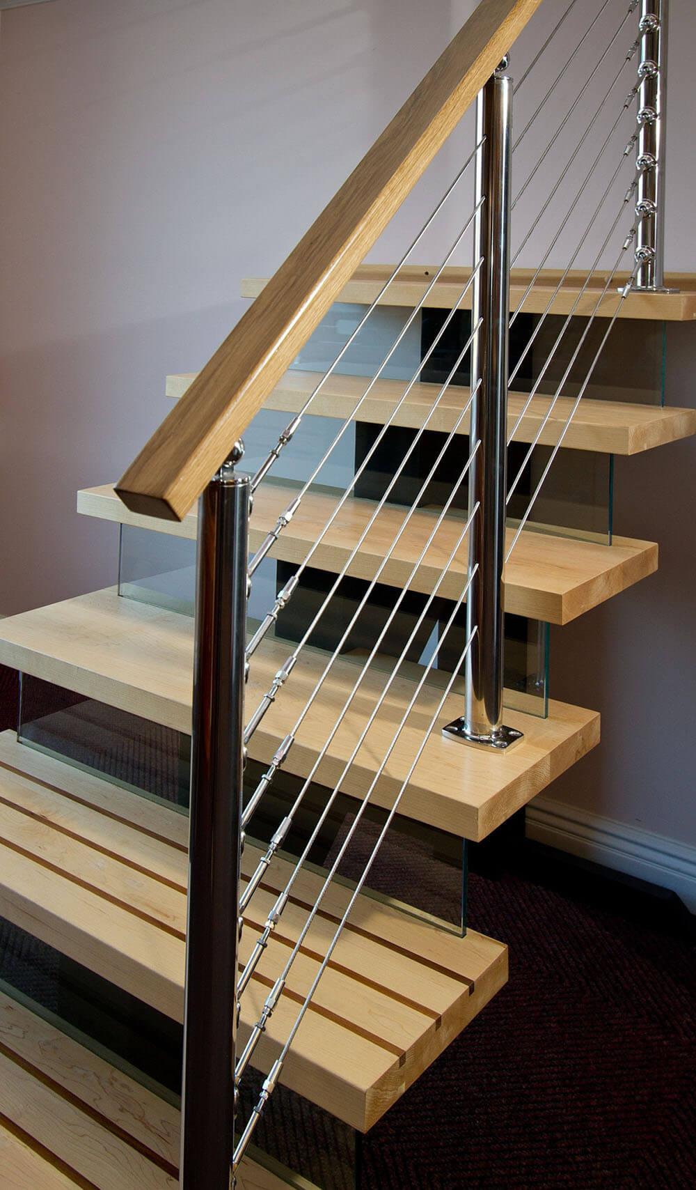 модульные лестницы для дачи