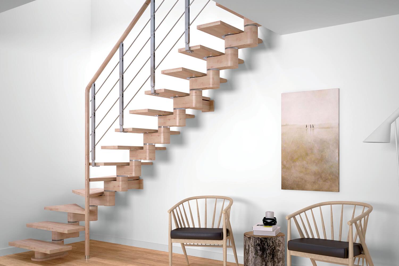 Модульные малогабаритные лестницы