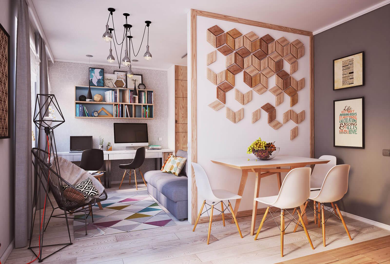 Красивый интерьер в квартире