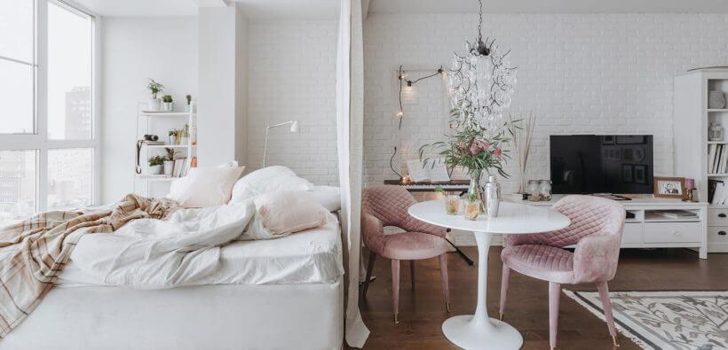 Дизайн-проект однокомнатной квартиры дизайнера