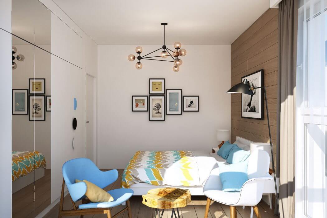 Дизайн-проект 3-х комнатной квартиры в панельном доме