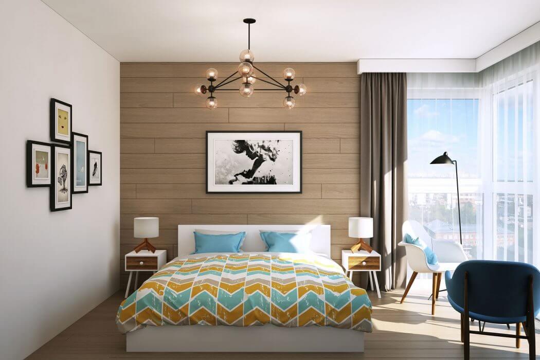 ссДизайн 3-х комнатной квартиры 70 кв. м