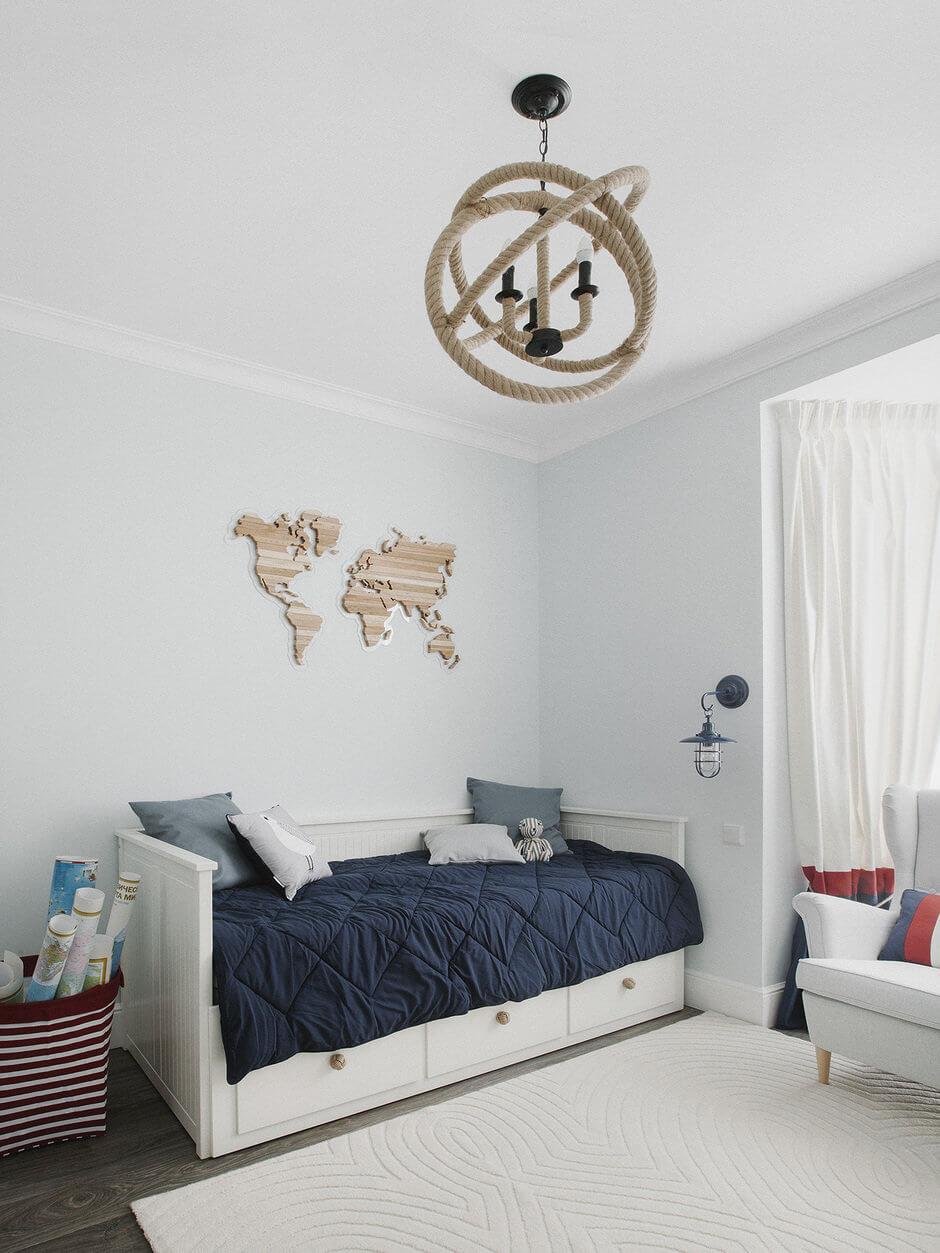 детская комната для мальчика 5 лет