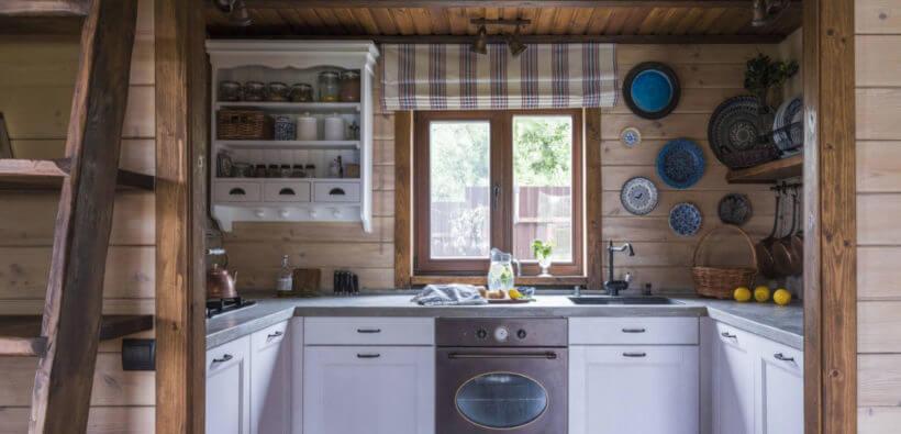 Дизайн дома из бревна: красивый проект