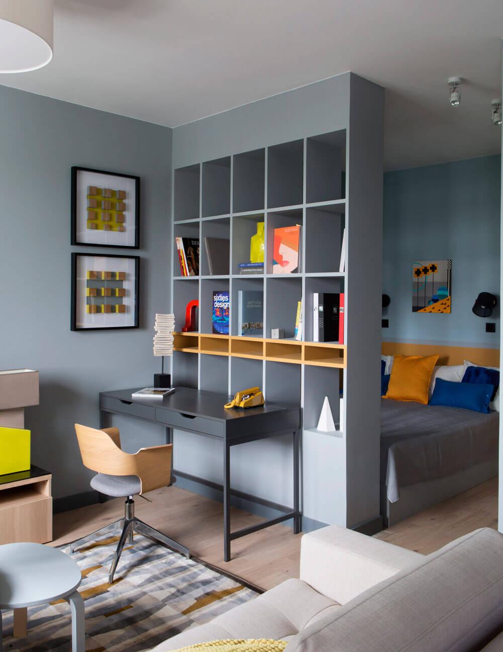 дизайн квартиры студии 25 кв м
