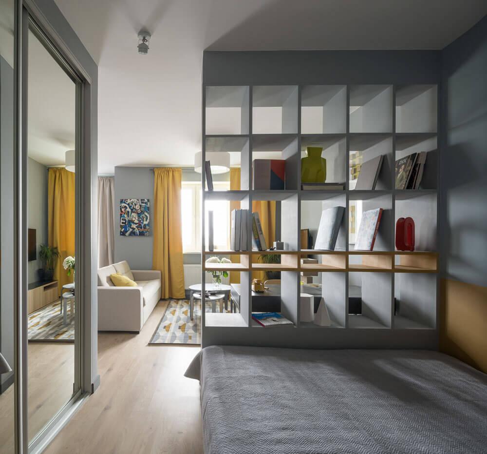 интерьер квартиры студии 25 кв м