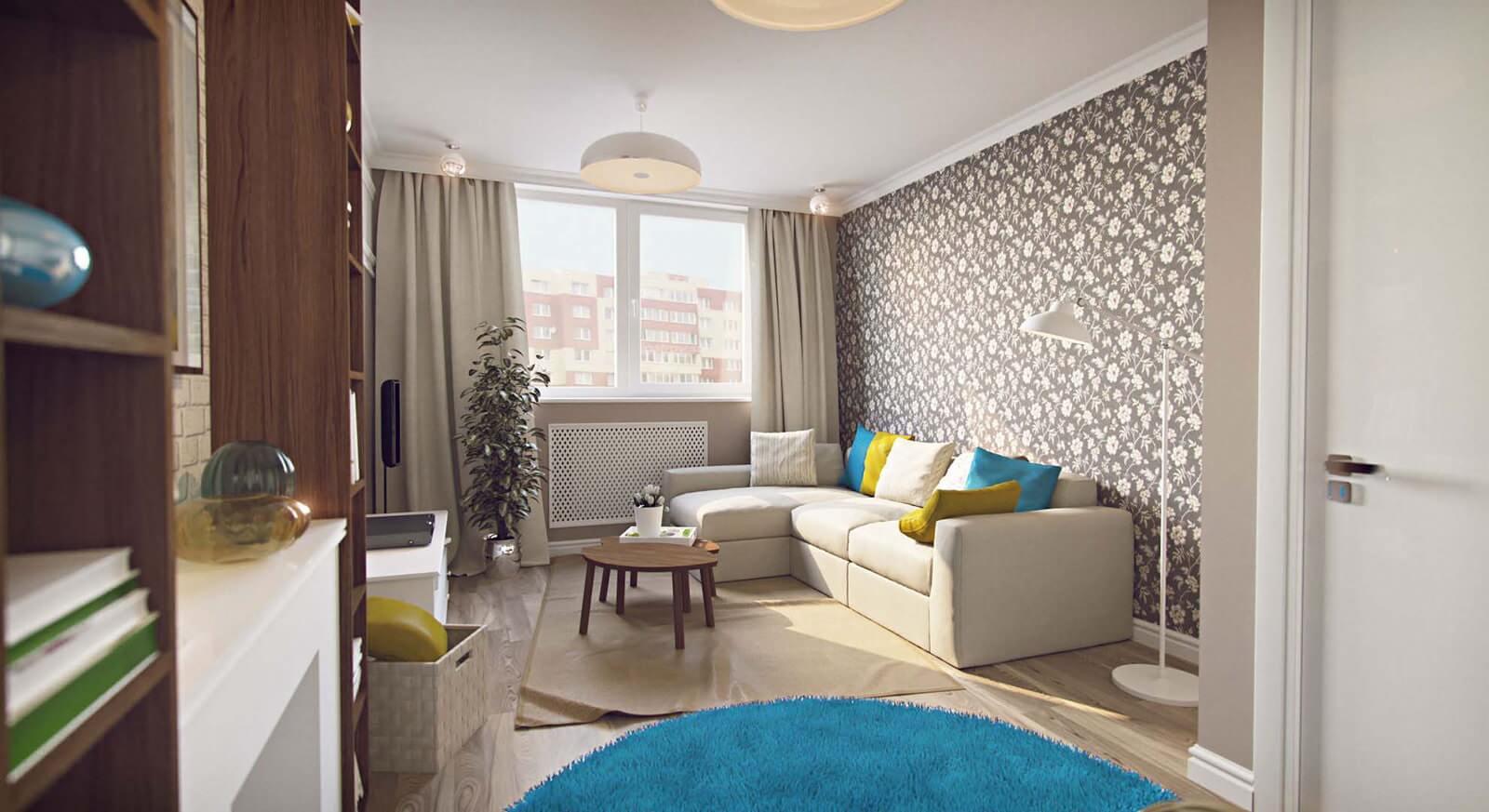 гостиная спальня