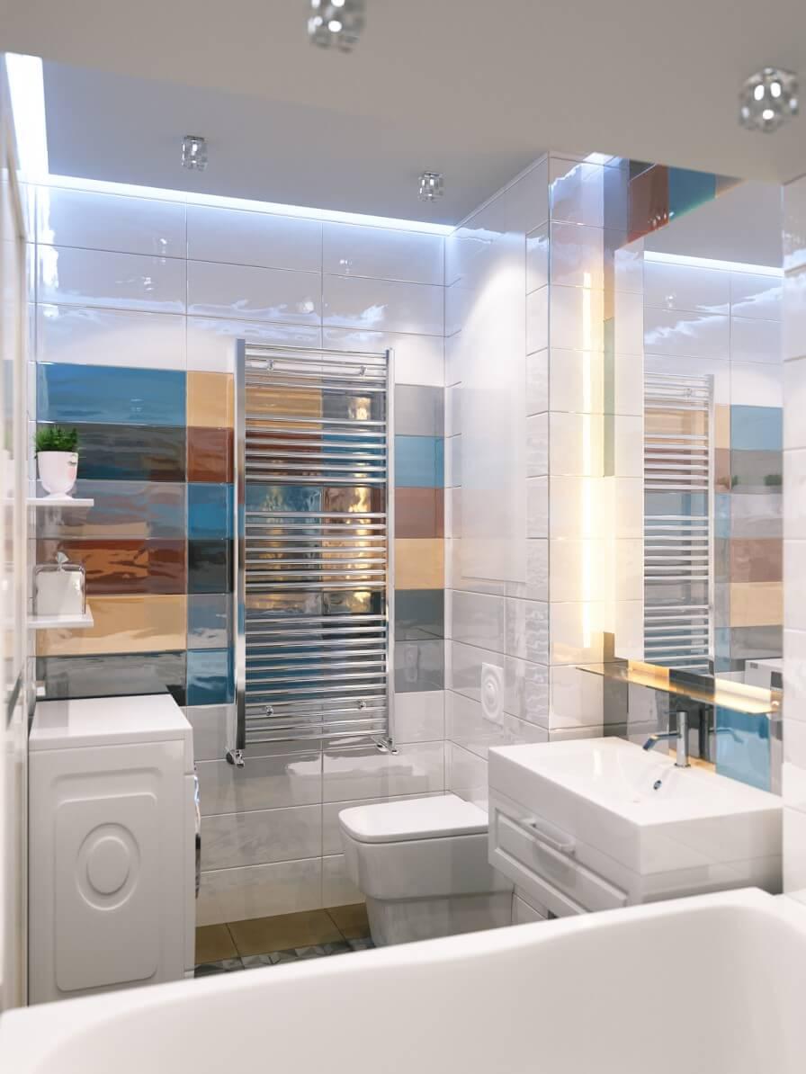 Дизайн совмещенной ванной комнаты в хрущевке