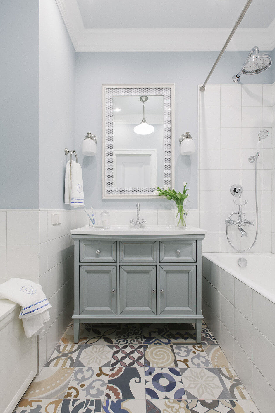 Ванная комната в хрущевке раздельная