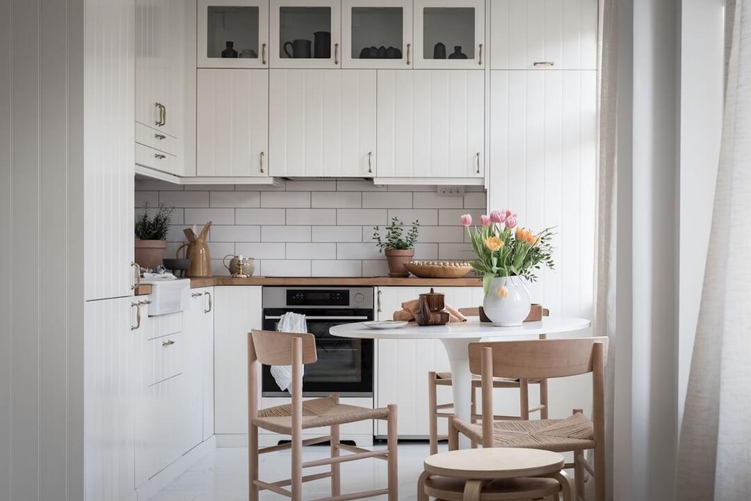 Угловые кухни в хрущевке с холодильником: идеи 2019