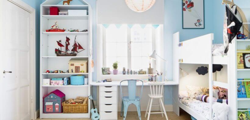 Оформление детской комнаты своими руками: интерьер в деталях