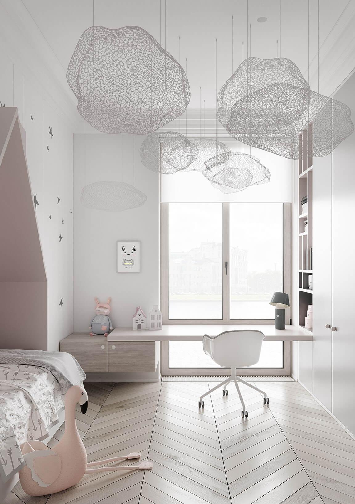 дизайн детской комнаты 13 кв м
