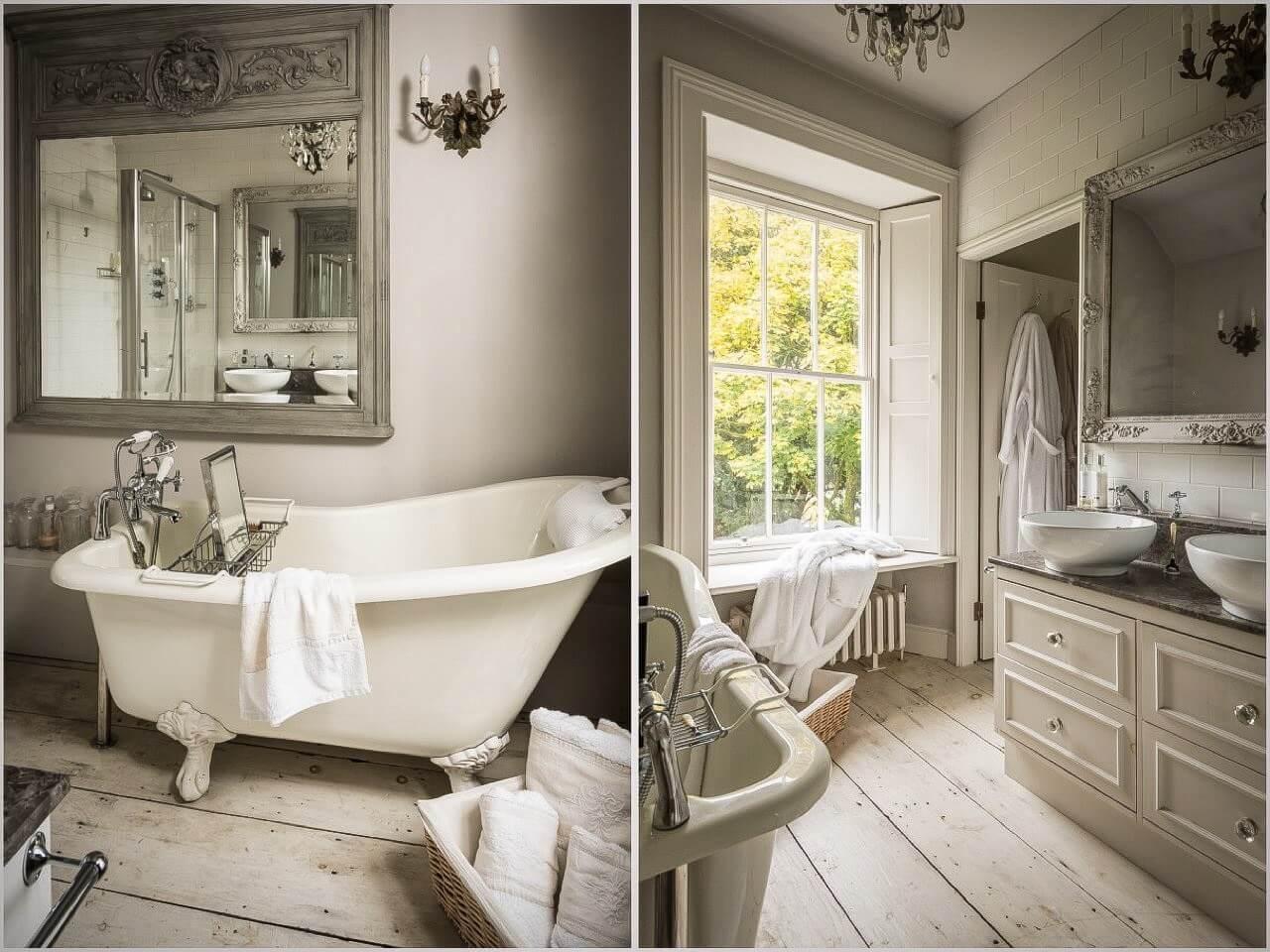 ванная в ретро стиле