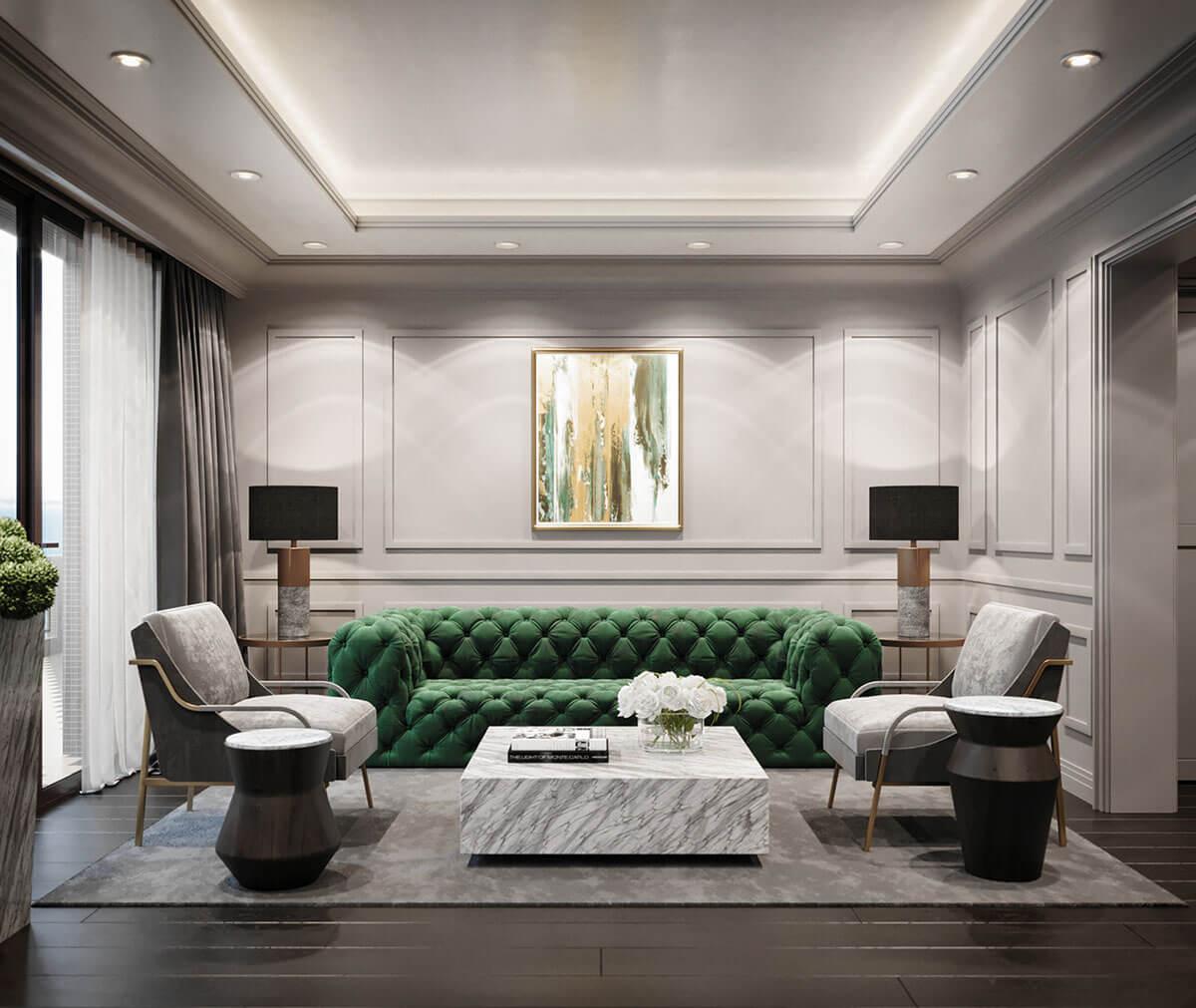 современная мебель для гостинной