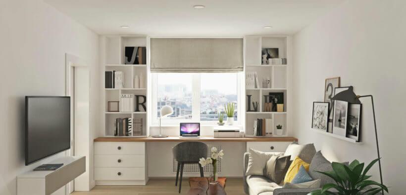 Оформление окна в комнате