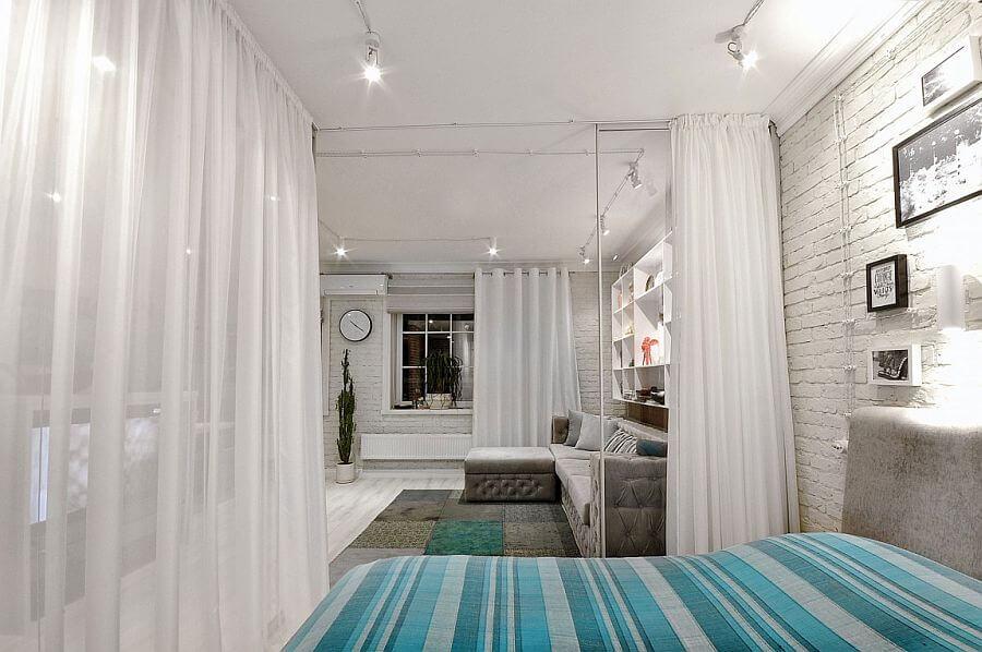 Маленькая спальня-гостиная