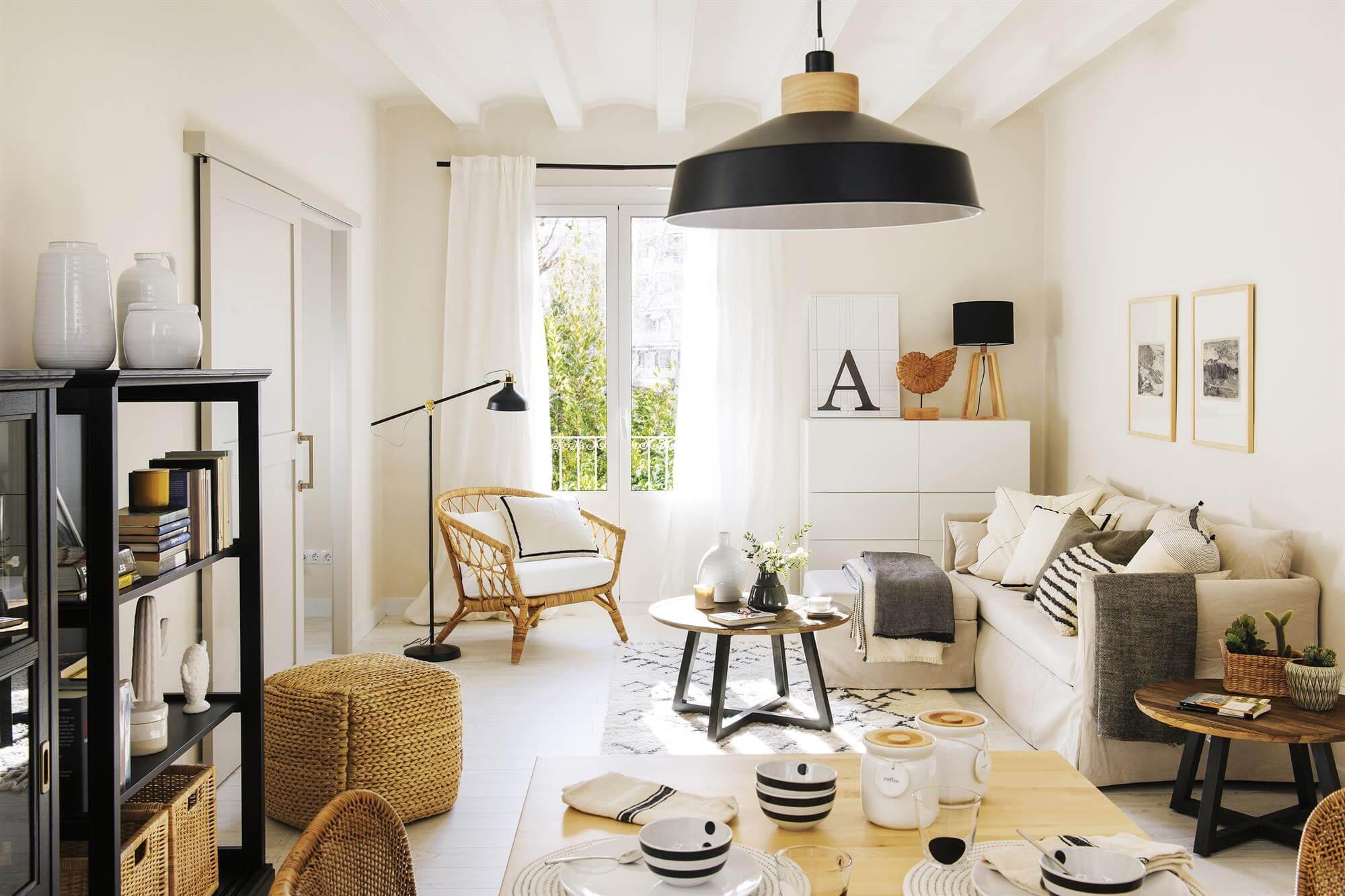 Интерьер гостиной: нужная мебель