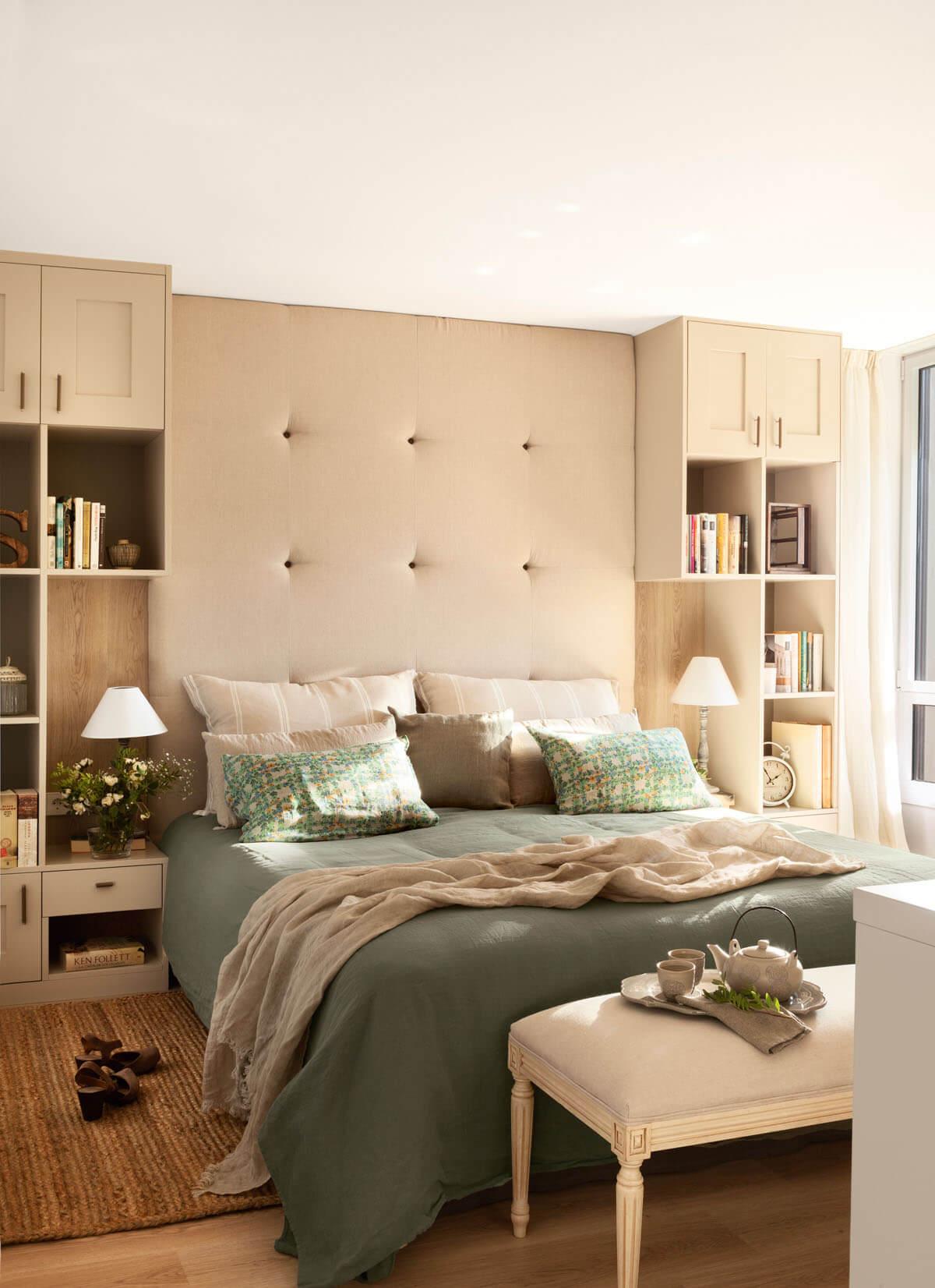маленькая спальня в классическом стиле