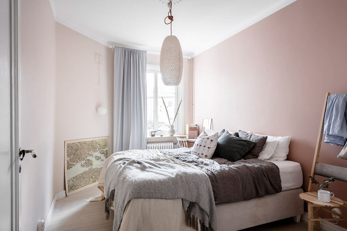красивый ремонт в спальне
