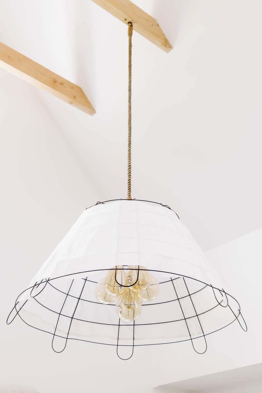 современный светильник