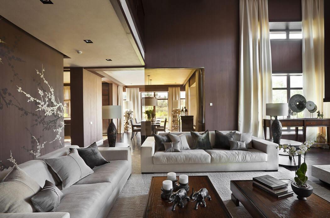 Шторы для элегантной гостиной