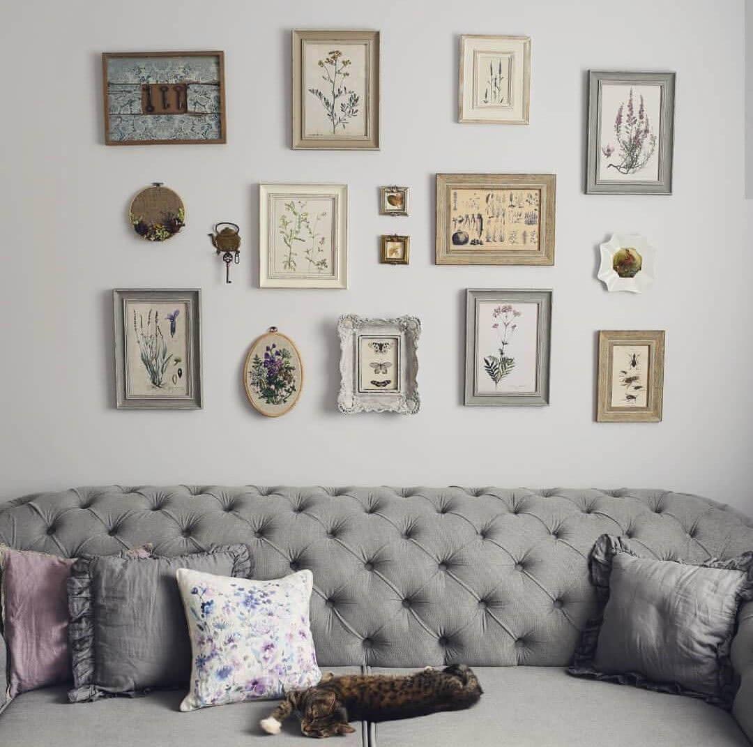Вышивка в доме - уют + красота
