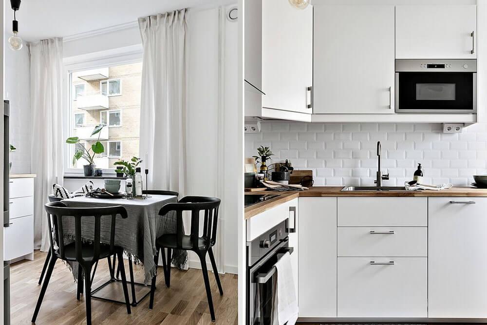 Ремонт кухни в скандинавском стиле