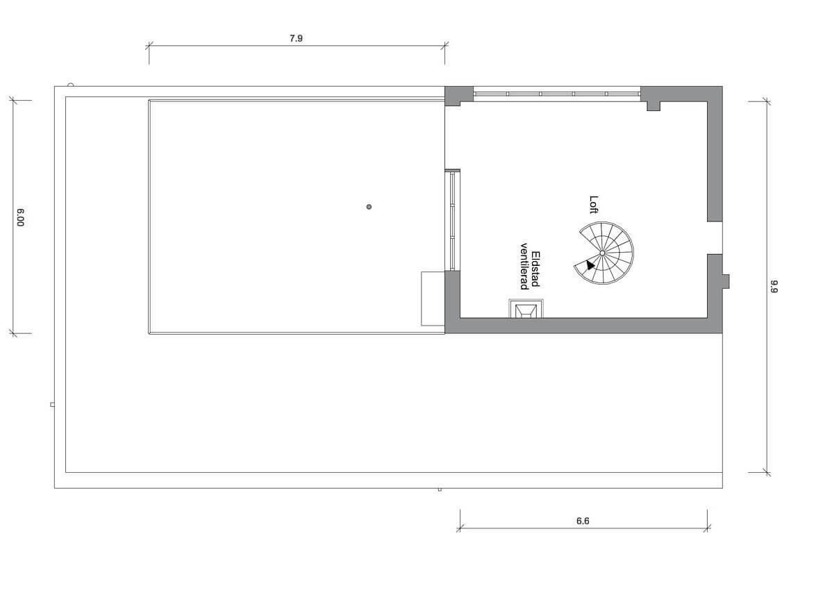 План двухэтажной квартиры