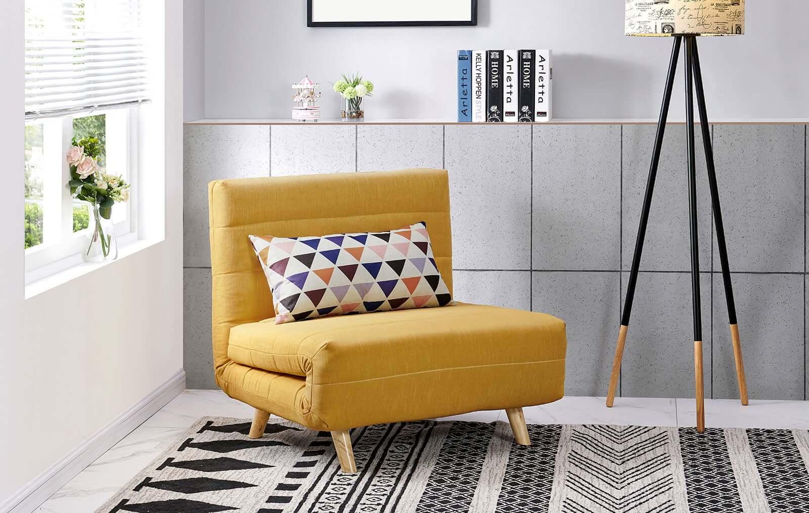 Кресла-кровати спасают маленькие комнаты