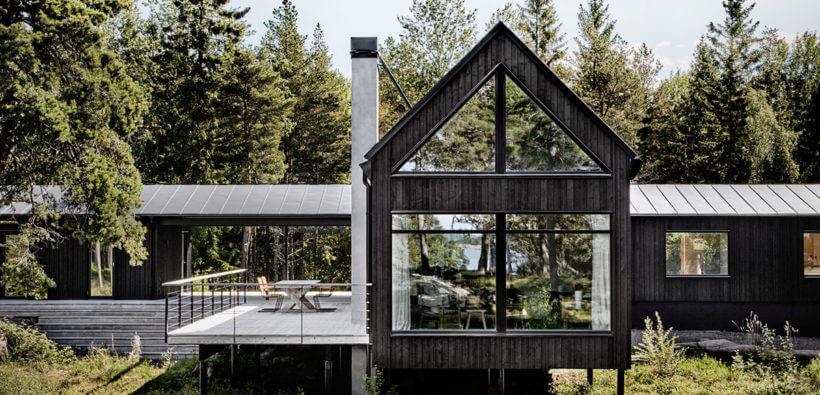 Проект недели: скандинавский дом в Швеции