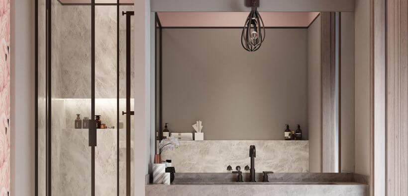 Красивые ванные комнаты в современном стиле: 30+ фото