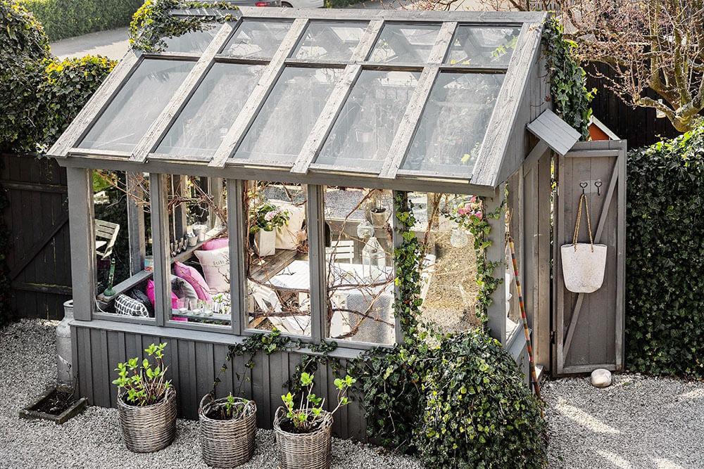 Сад в стиле кантри или деревенский стиль