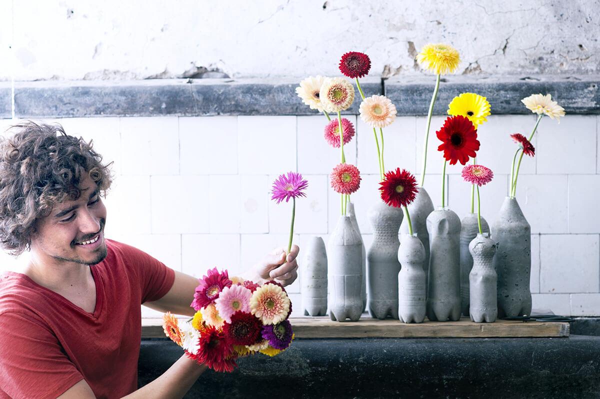 Горшки для цветов своими руками