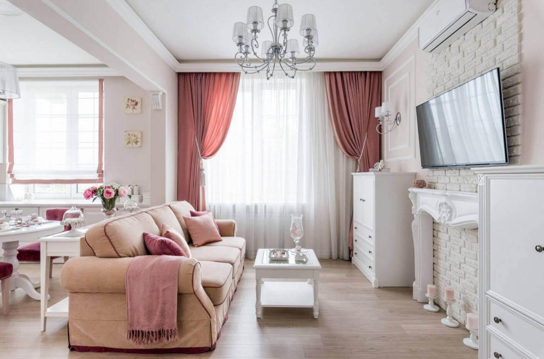 дизайн гостиной-студии
