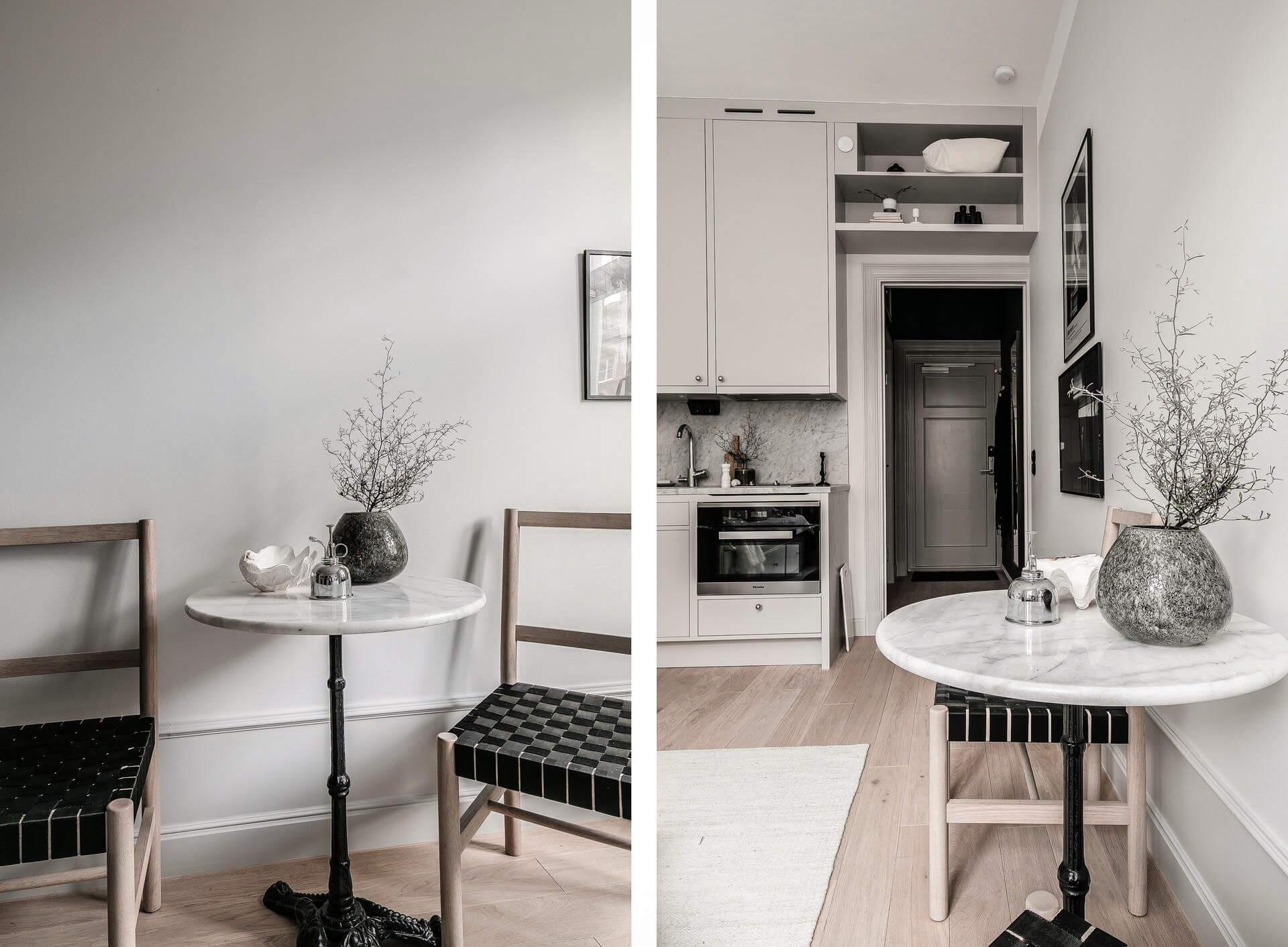 Интерьер маленькой квартиры-студии