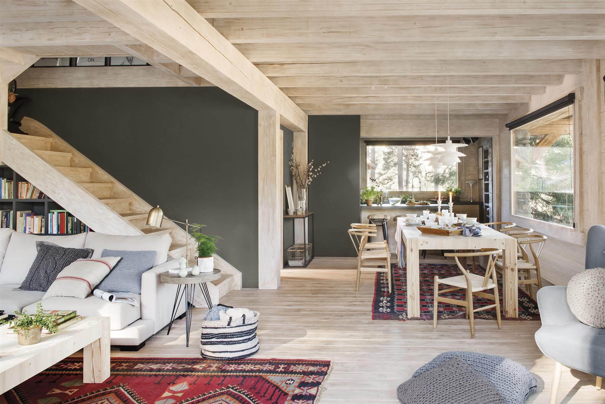 Внутренний дизайн дачного дома