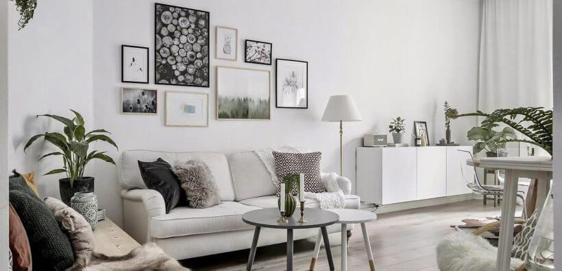 Дизайн квартиры в светлых тонах: оформляем вместе