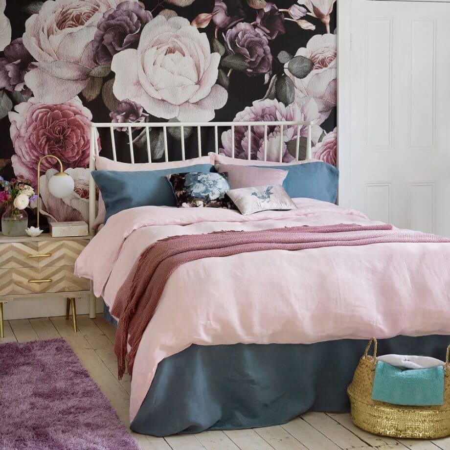 Фотообои с цветами: летнее тепло и красота в доме