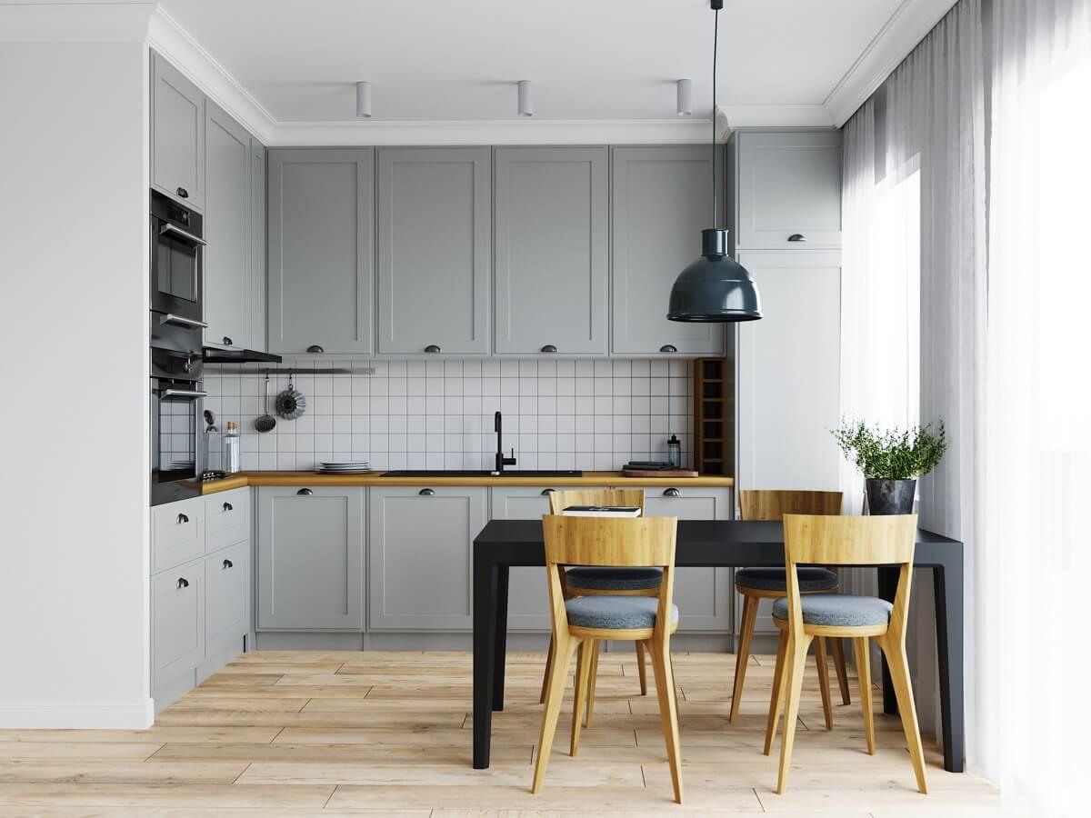 Интерьер кухни в стиле - современная классика
