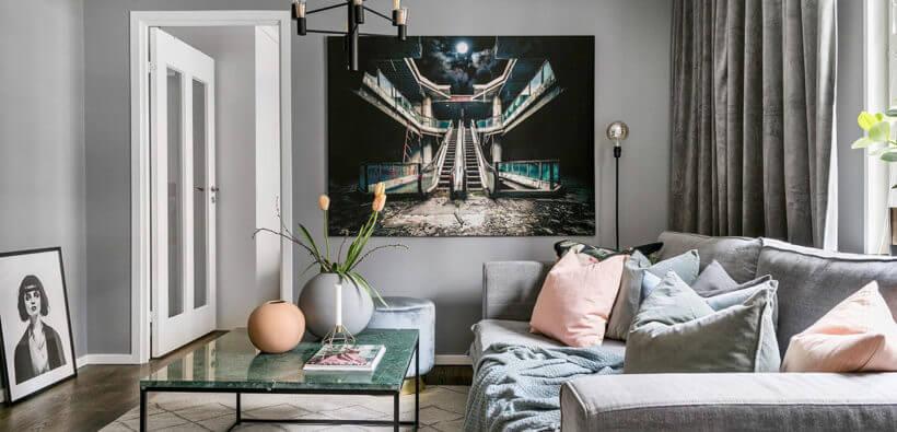 Современная гостиная: 50+ фото
