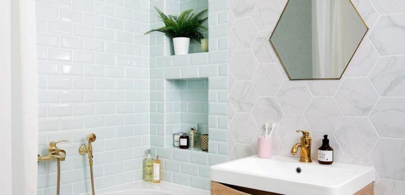 Ремонт ванной комнаты в хрущевке своими руками: 15+ идей