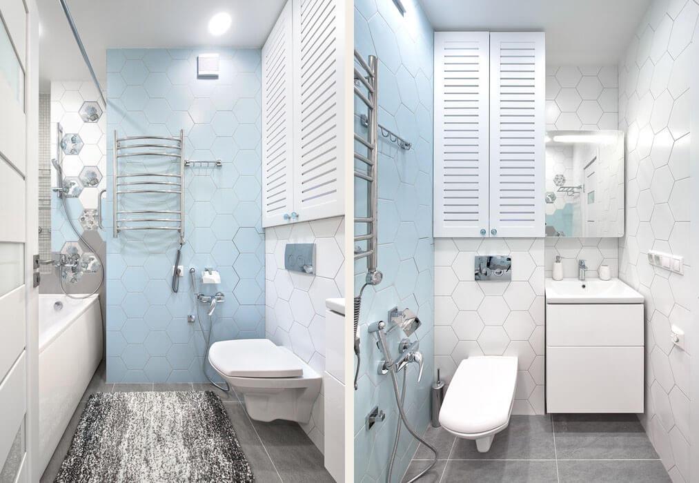 Ремонт совмещенной ванной комнаты в хрущевке