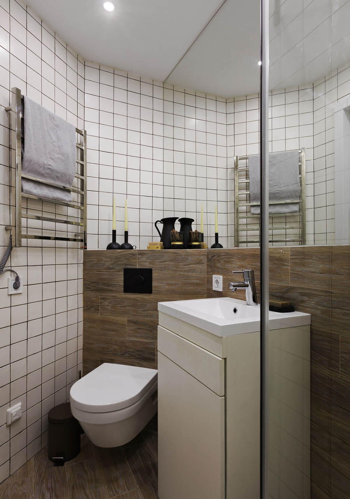 Ремонт в маленькой ванной в хрущевке