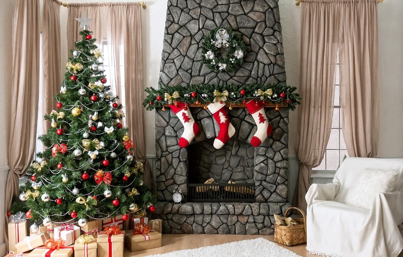 новогодняя елка живая или искусственная